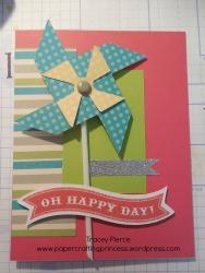Oh Happy Day Pinwheel